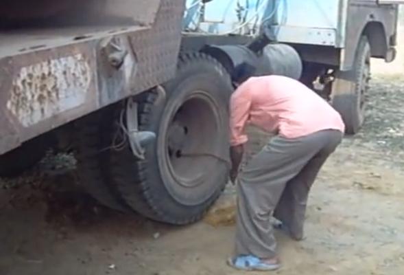 Lorry bump start