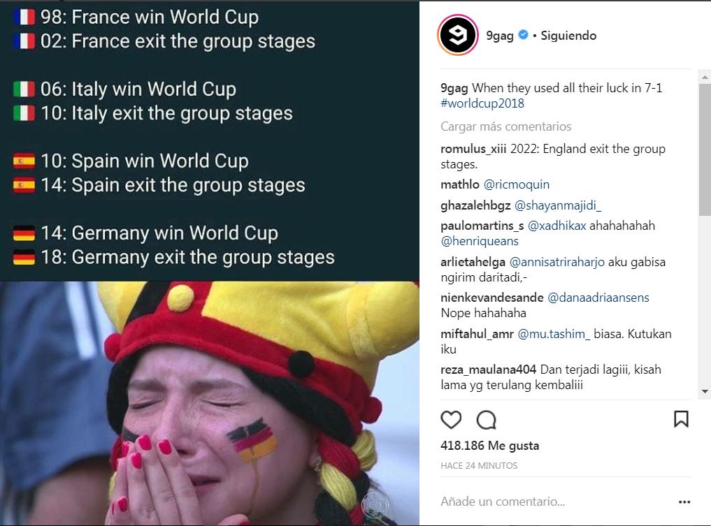 La maldición de los campeones del