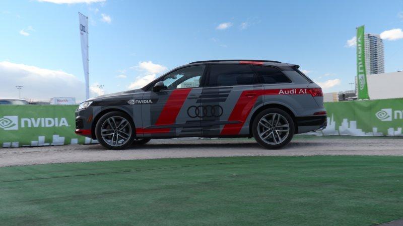 アウディ、NVIDIAと提携し人工知能技術を搭載した自動運転車を開発