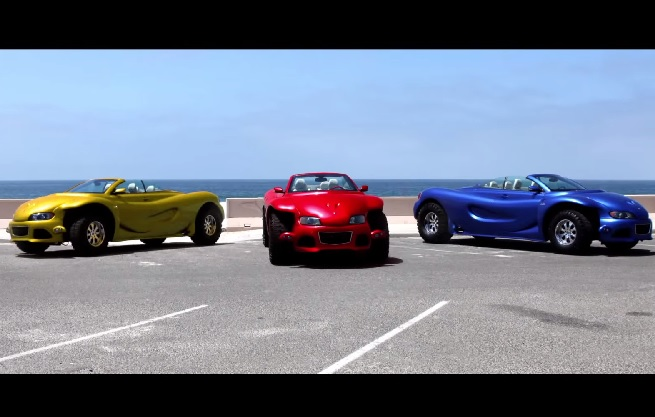 【ビデオ】昨年のLAショーで話題となった巨大車「Youabian Puma」の走行映像!