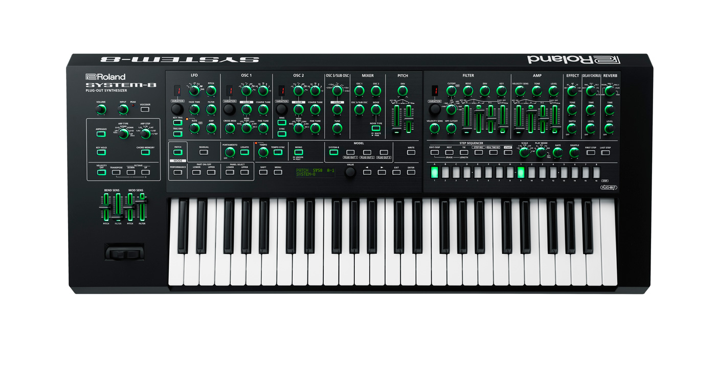 Roland's System-8 keyboard is all the synths you want in one