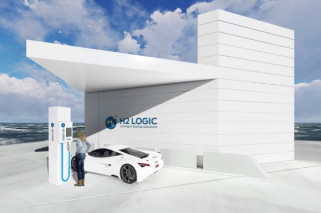 デンマークのH2 Logic社、省スペースで大容量の新型水素ステーションを開発