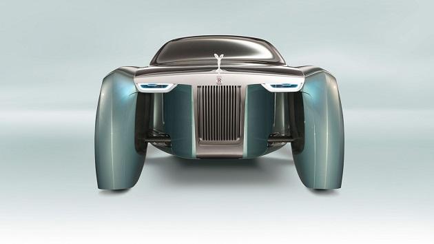 【ビデオ】ロールス・ロイス、衝撃的なコンセプトカー「VISION NEXT 100」を発表