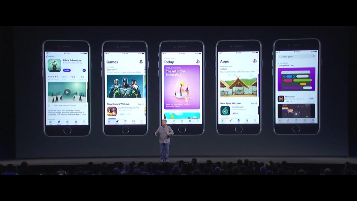 Keynote Apple: les nouveautés de l'iOS 11, nouveau système d'exploitation iPhone et