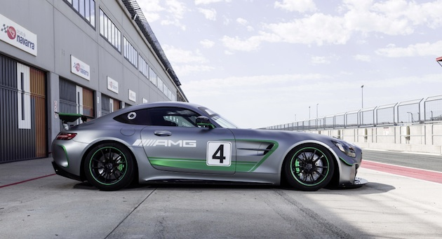 Mercedes-AMG GT4, Lausitzring Mercedes-AMG GT4, Lausitzring