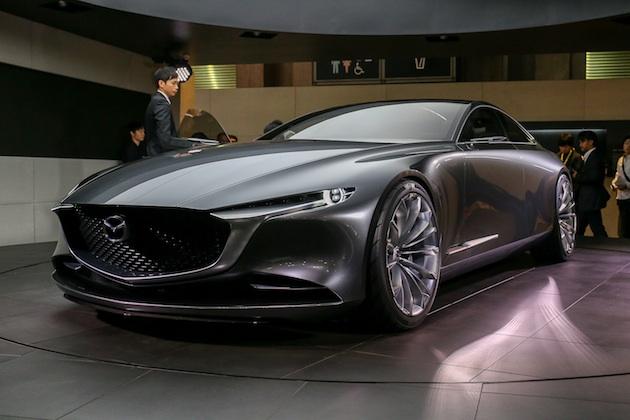 【東京モーターショー2017】マツダ、4ドア・クーペのコンセプトカー「VISION COUPE」を発表【動画付き】