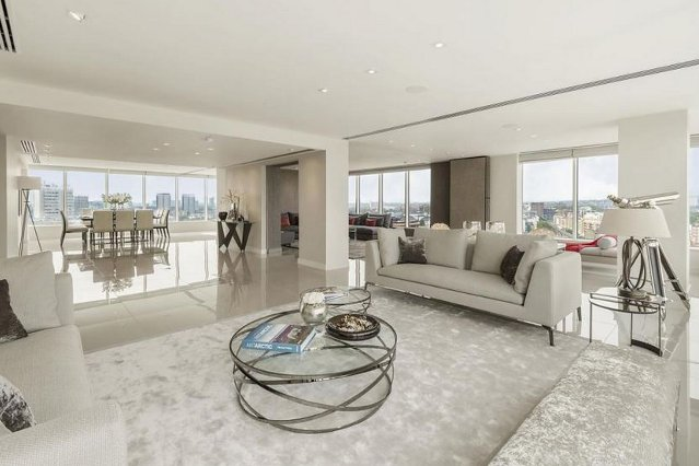 Duplex penthouse in Marylebone