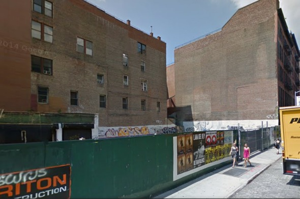 Google Maps Street View of Crosby Street New York