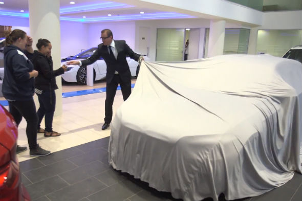 BMW April Fools stunt
