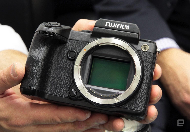 30 minutes with Fujifilm's medium-format mirrorless GFX 50S