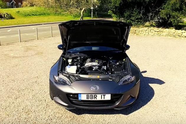 【ビデオ】英国のBBRが、マツダ「ロードスター」を248馬力にパワーアップするターボ・キットを発売!