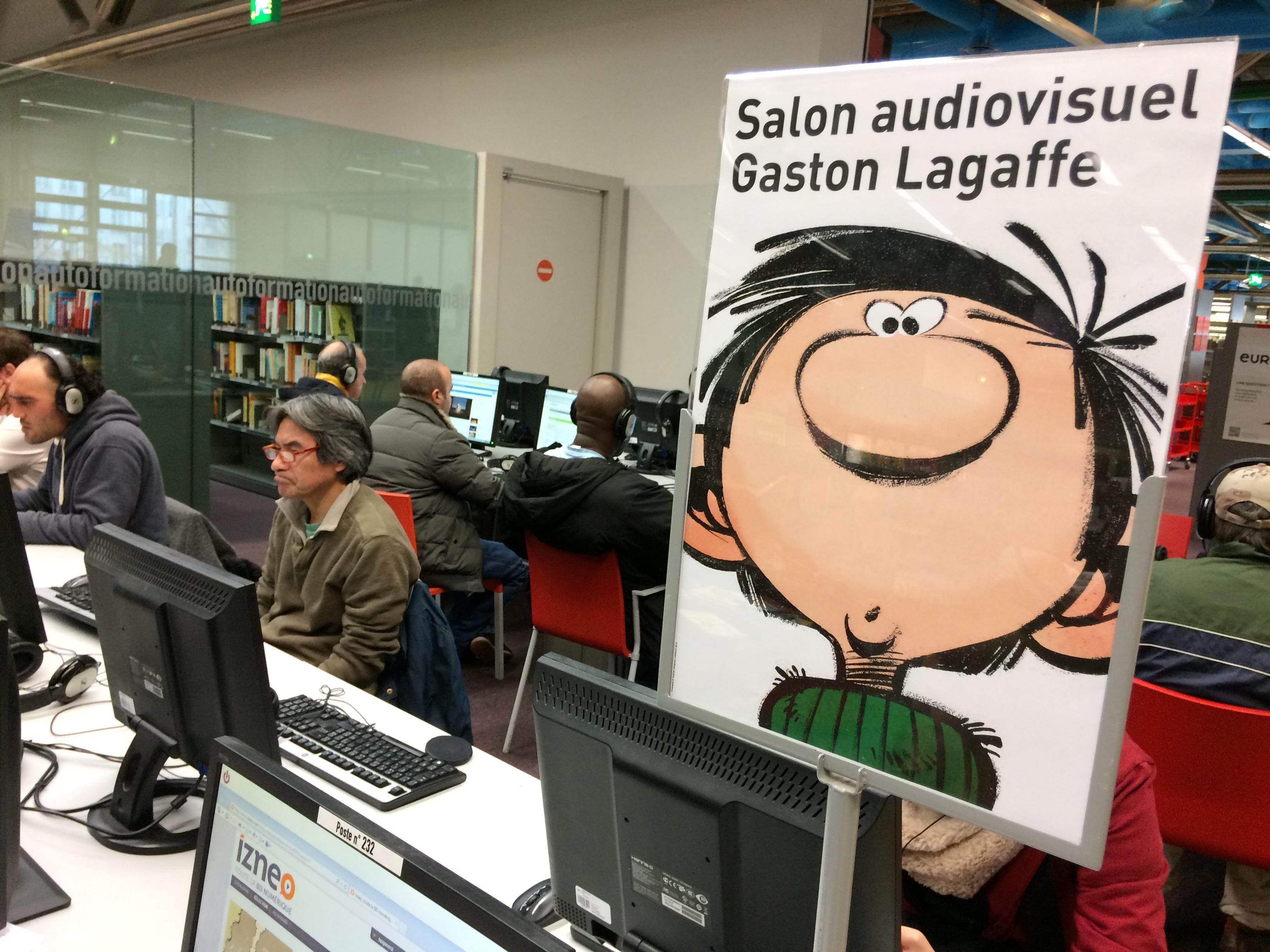 L'expo pour les 60 ans de Gaston Lagaffe à Pompidou vous réserve quelques