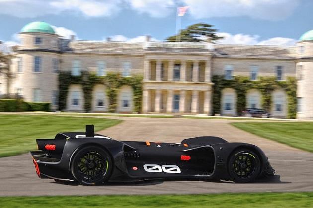 無人の自動運転車によるレース「ロボレース」のマシンが、グッドウッドのヒルクライムに初挑戦!