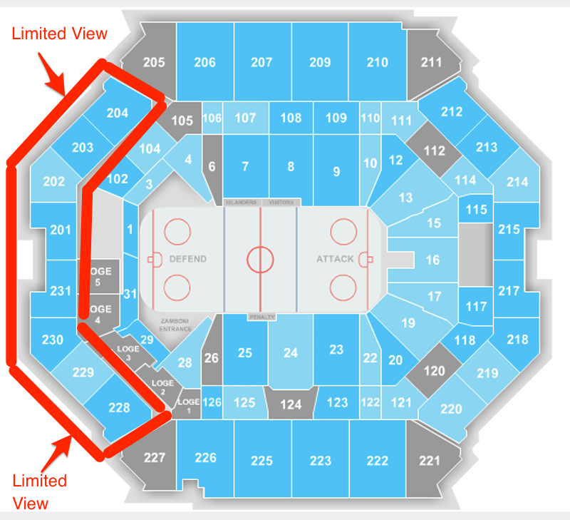 Brooklyn S Barclays Center Might Have The Worst Seat In American Professional Sports Aol News