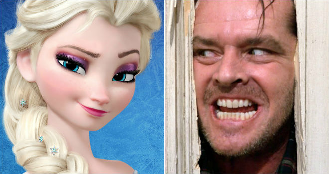 frozen the shining theory