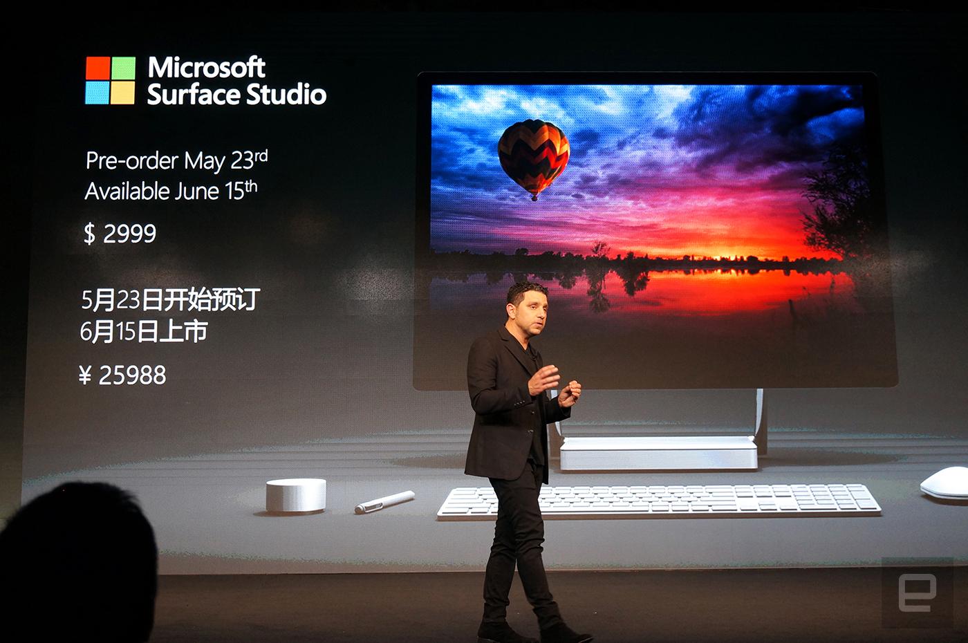 Panos Panay:「賣出去的 Surface Studio 比做出來的要多」