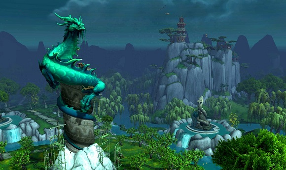 The Jade Serpent statue