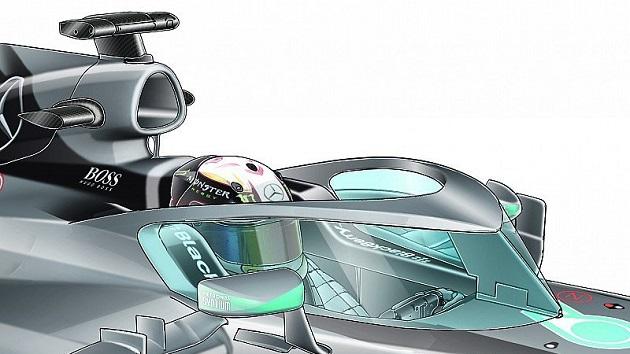 F1、2017年からコックピット保護対策を導入の意向 「Halo(暈)」型コンセプトが有力候補