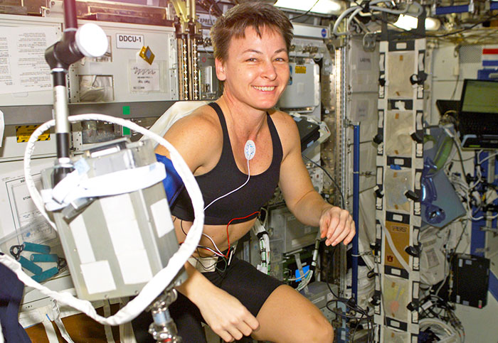 How Peggy Whitson stayed in shape for nine months aboard the ISS