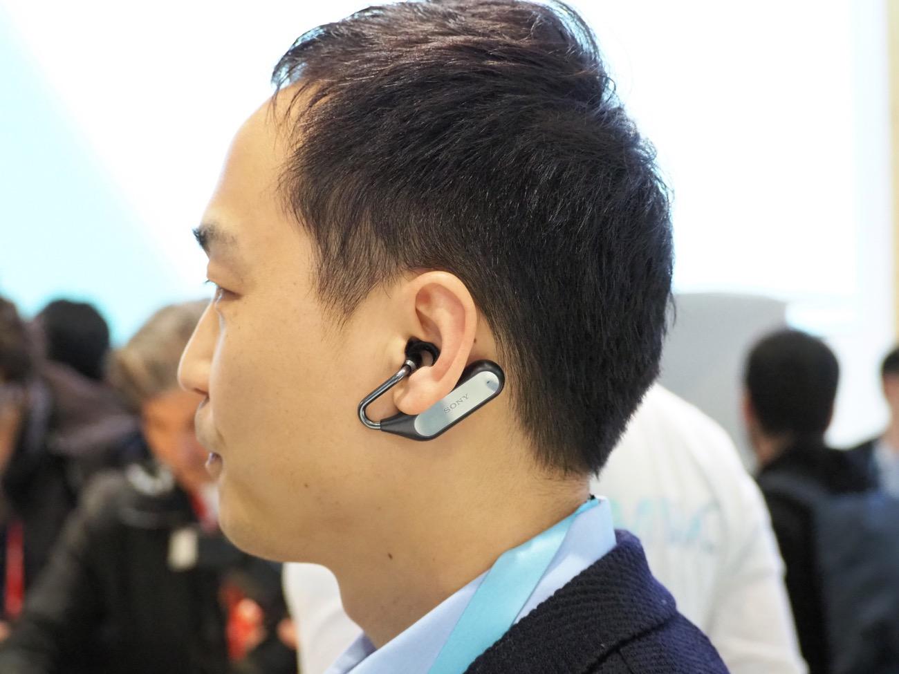 P2260317 - ソニーから遮音しない左右独立スマートイアホン「Xperia Ear Duo」4/21発売