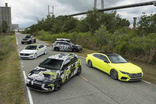 フォルクスワーゲン、米国で開催された欧州車ファンのイベントにカスタムカー5台を出展!