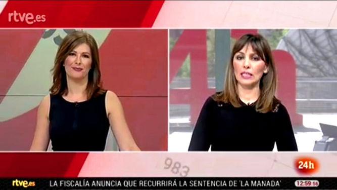 Lara Síscar y Ángeles