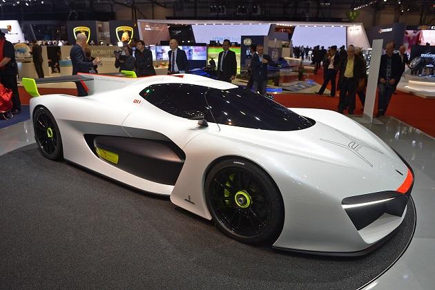 ピニンファリーナ、水素燃料電池で走るレースカー「H2スピード」の市販化を計画中