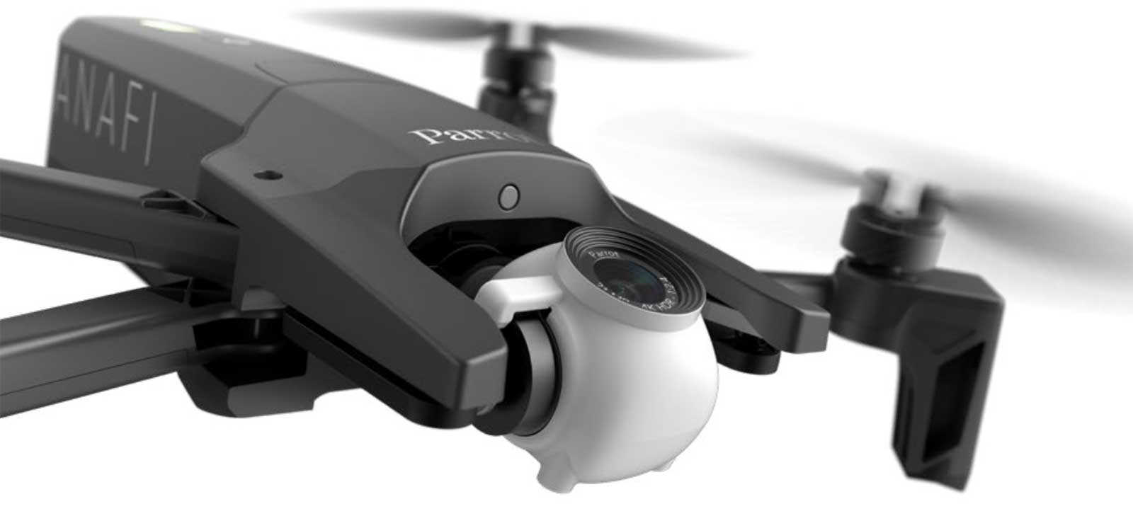 Parrot S Folding 4k Drone Is Ready To Take On Dji S Mavic Air
