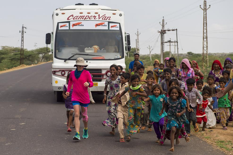 Samantha Gash loved meeting Indian people as she made her journey across the
