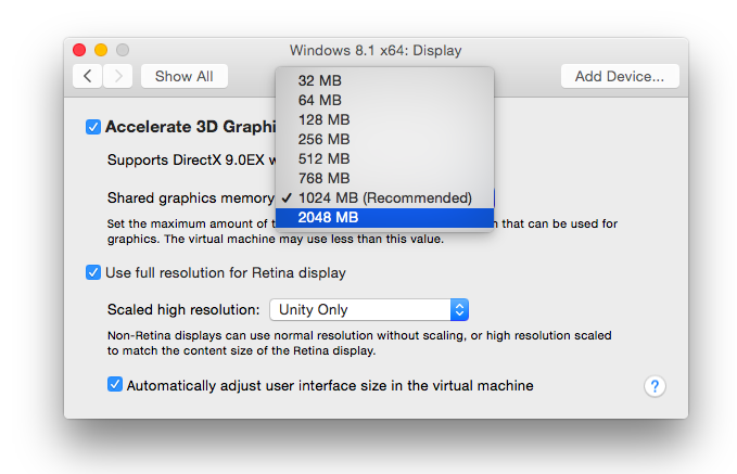 VMWare Fusion 7 provides more powerful virtual machines