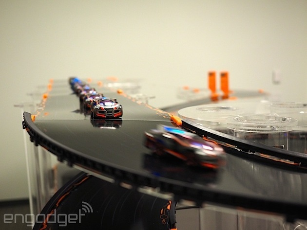 what is the name of the ai guide in anki overdrive?