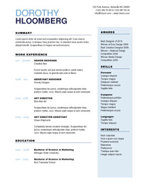 browse all 277 free resume templates at hloom