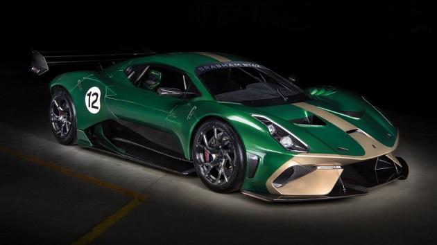 ブラバム、自然吸気V8エンジンを搭載する新型スーパーカー「BT62」を公開