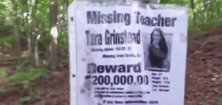 A Man Hiking Through The Woods In Long Island Claims To Have Found A Shrine  With Dozens Of Posters Of Missing People.  Missing People Posters