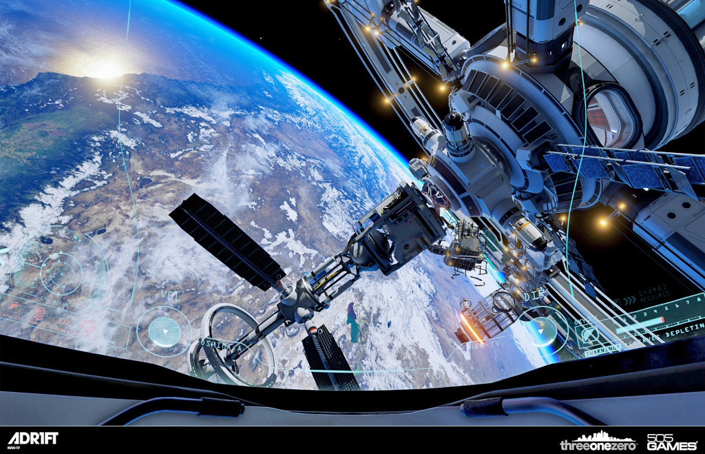 Orbital survival simulator 'Adr1ft' floats to Vive in May