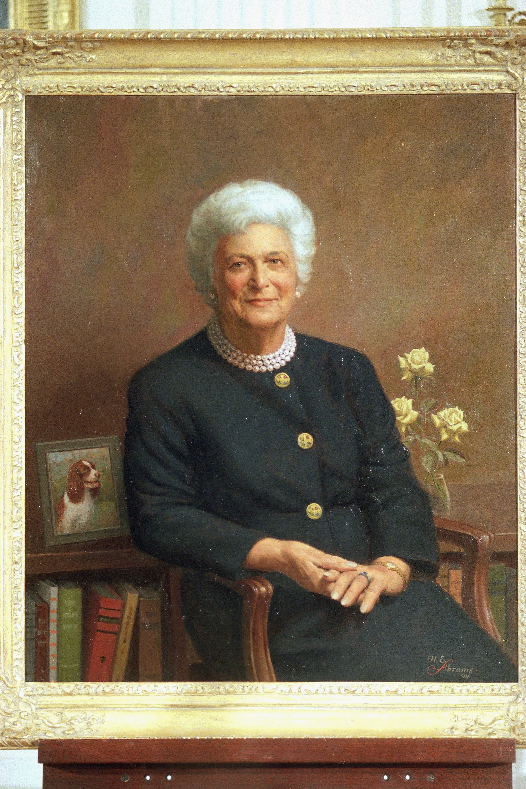 Barbara Bush Portrait