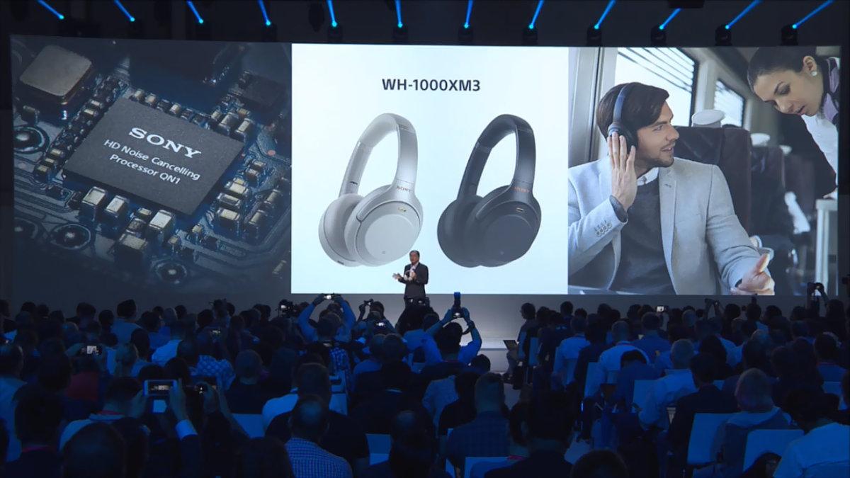 速報:「1000X」のノイズ低減効果が4倍に。新ヘッドホンWH-1000XM3を