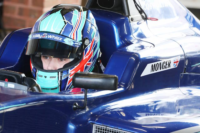 Billy Monger (GBR) Carlin F3