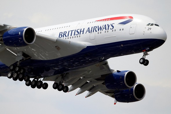 BA plane diverted over smelly poo in toilet