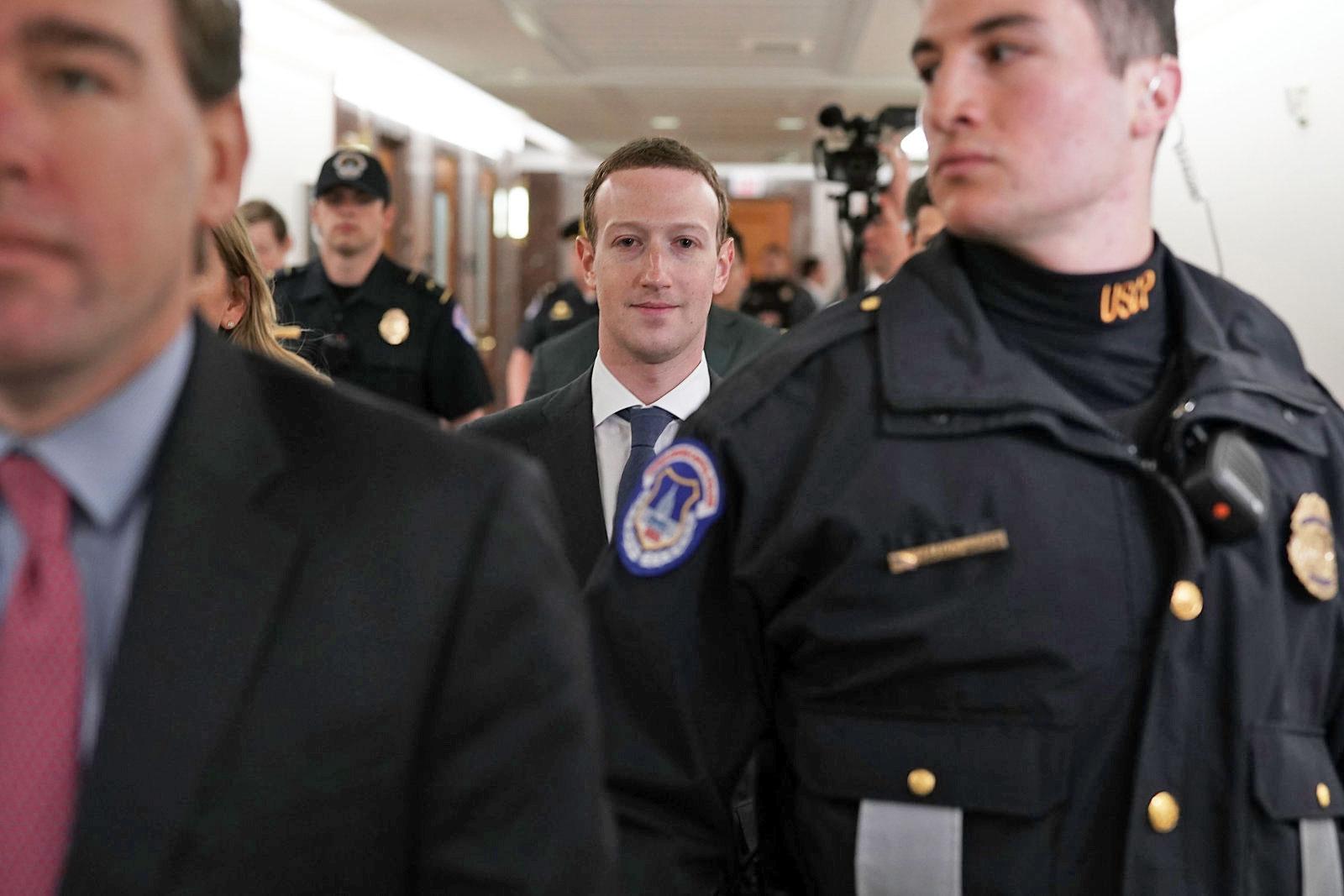 Hasil gambar untuk Zuckerberg: Facebook has a 200-person counterterrorism team / wapo / GIF