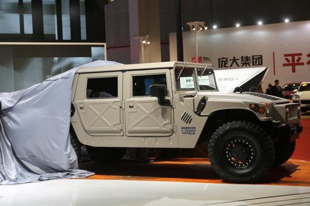 米国で復刻製造される新車の「ハマー H1」が、中国で販売開始へ!