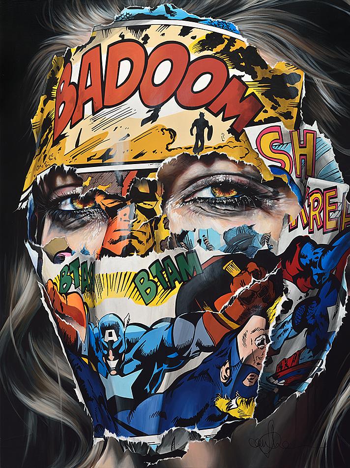 Sandra Chevrier, le trait d'union entre les beaux-arts et les bandes