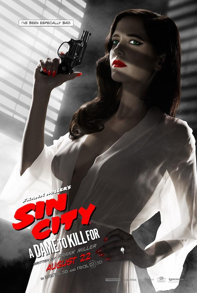 Eva Green Sin City Poster