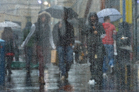 Glasgow revealed as Britain's rainiest city