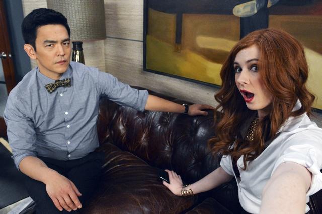 TV STILL -- DO NOT PURGE -- SELFIE -