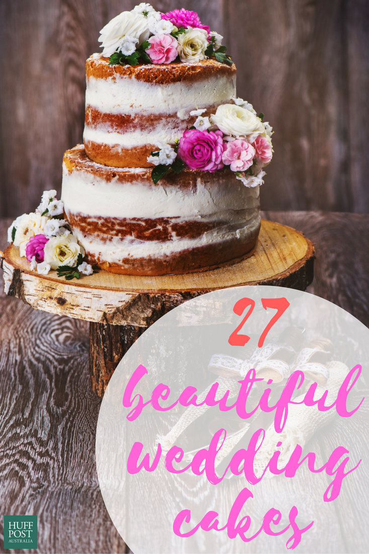 These 27 Stunning Wedding Cakes Are Too Much To Handle Huffpost