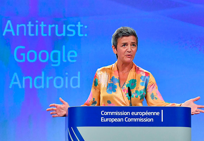 Google fined $5.04 billion for forcing its apps onto Android phones
