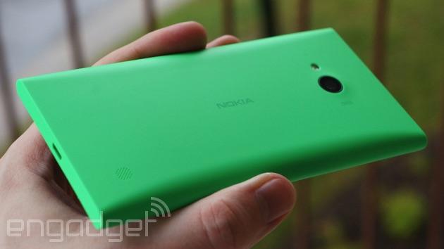 Lumia 735 backside
