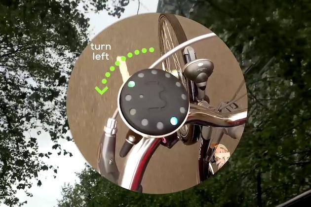 スマートフォンと連動するナビ機能付き自転車用ベル「Blubel」