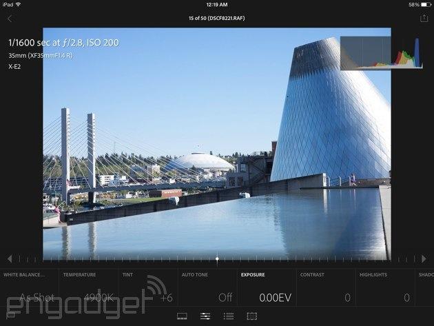 Lightroom mobile review: Adobe brings (most of) its digital